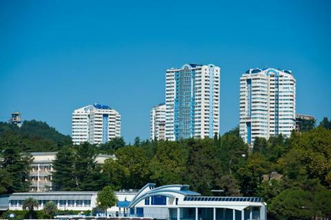 Квартира с шикарным видом на море в Сочи, новостройка (sea view) - Фото 4