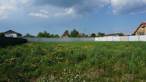 Участок в деревне Алексеевское 8 соток днп Ветеран - Фото 2
