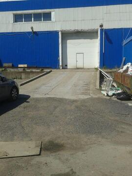 Аренда склада производство 1100 кв.м с авто и ж/д пандусом - Фото 4