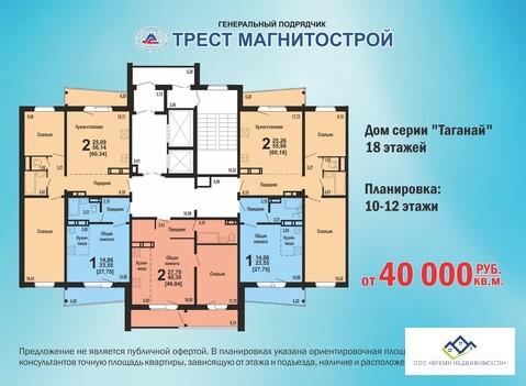 Продам двухкомнатную квартиру Университетская набережная ,105д, 56 кв. - Фото 2