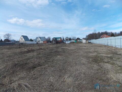 Земельный участок площадью 13 соток в д. Малые Петрищи. - Фото 4