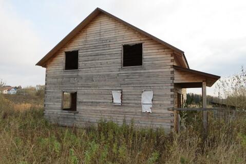 Дом 100 м2, Брус, 15 соток, Газ, д. Жуклино - Фото 1