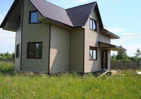 Дом новый с пропиской в Лисавах, Переславский район, р. Кубрь - Фото 1
