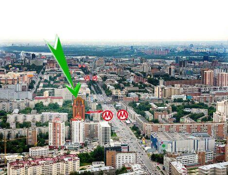 Продажа псн, Новосибирск, м. Гагаринская, Ул. Кропоткина - Фото 2