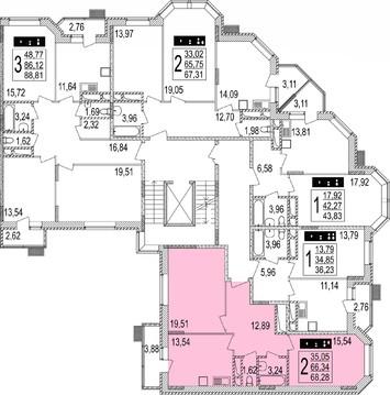 Двухкомнатная квартира в ЖК Мытищи Lite, выдача ключей - Фото 5