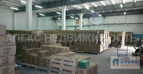 Аренда помещения пл. 420 м2 под склад, м. Перово в складском . - Фото 3