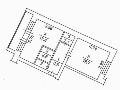 Продажа однокомнатной квартиры на Верах Волошиной улице, 41 в Кемерово, Купить квартиру в Кемерово по недорогой цене, ID объекта - 319828868 - Фото 1