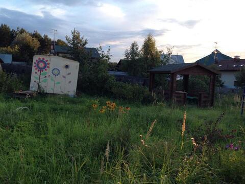 Предлагаем земельный участок 12 соток со старым домом в д.Лобаново, . - Фото 2
