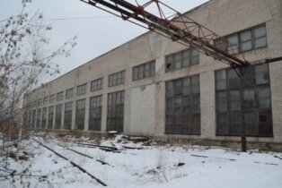 Производственный комплекс с ж. д. путями