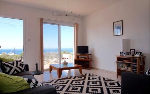 Трехкомнатный Апартамент с видом на море в живописном районе Пафоса - Фото 5