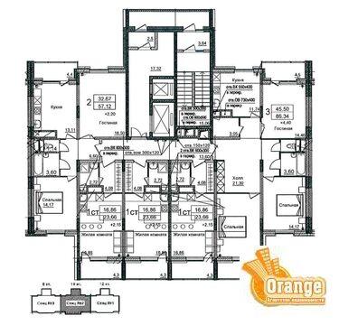 Продаются квартиры в п. Биокомбинат, Жилой дом №1 - Фото 3