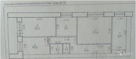 4-ком. квартира на ул Театральная 11 - Фото 3
