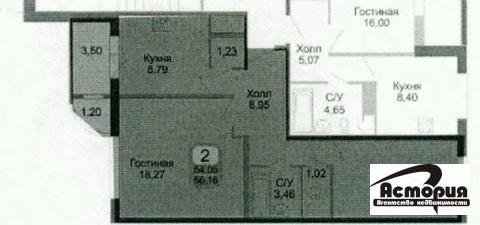 2 комнатная квартира, ул. Колхозная 20 - Фото 1