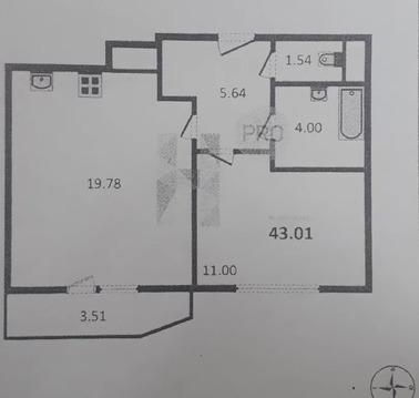 Объявление №50849643: Квартира 1 комн. Санкт-Петербург, Комендантский пр-кт., 57 к1,