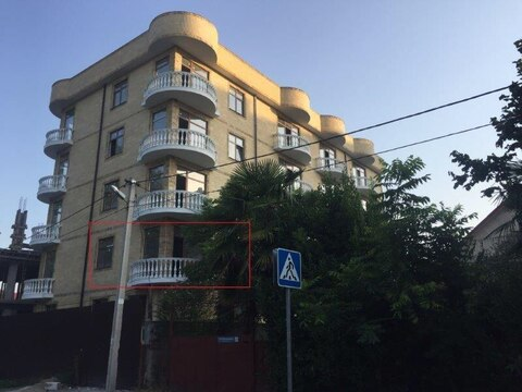 Квартира с ремонтом 24кв.м в Адлере - Фото 1