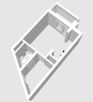 1 комната ЖК манхэтен 11/16 этаж 64квартира - Фото 3