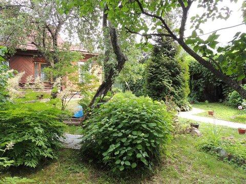 Продается часть дома на участке 14 соток в поселке Дружба, г.Мытищи - Фото 1