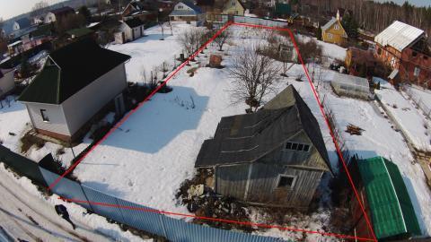Дачный участок 10 соток с домом в центре с.Вороново Новая Москва - Фото 2