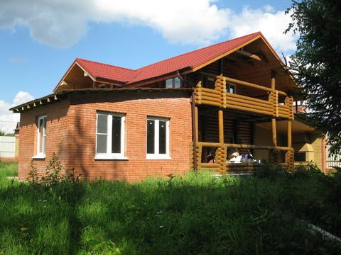 Супер дом 150 м в д.Пахорка на участке 30 сот.в Москве по Киевс.шоссе - Фото 1