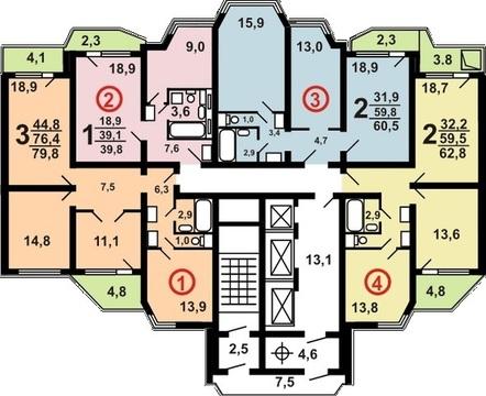 Продам 3-х комнатную квартиру в Путилково - Фото 2