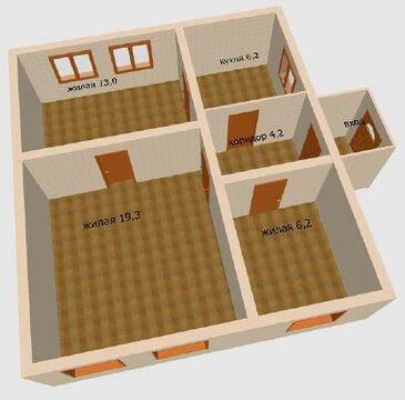 3-комнатный дом в Тирасполе - Фото 2