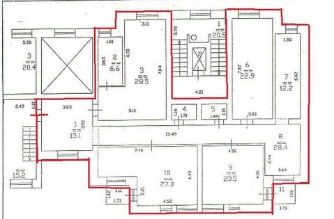 Офис из 4-х комнат и холла - Фото 4