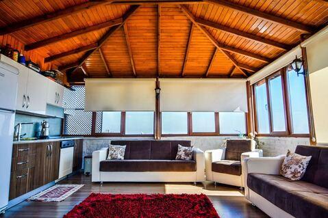 Шикарная двухуровневая квартира 4+2 (6 комнат) с видом на горы и море - Фото 1