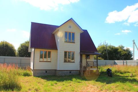 Деревянный дом на участке 15 соток, Продажа домов и коттеджей Хмелево, Киржачский район, ID объекта - 502881871 - Фото 1