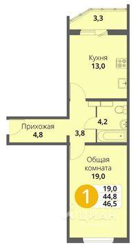 Продажа квартиры, Образцово, Орловский район, Улица Емлютина - Фото 1