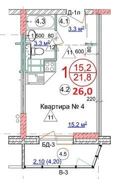 Продается квартира-студия. кв. пр Университетский 53 - Фото 4