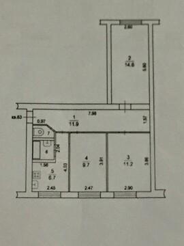 Продаем 3х-комнатную квартиру г.Видное, ул.Советская, д.21/22 - Фото 1