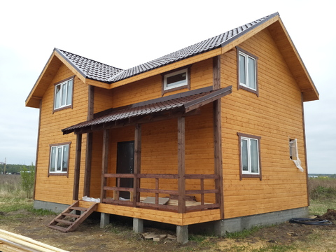 Продается деревянный каркасный дом под ключ кп Кузнецовское подворье, - Фото 4