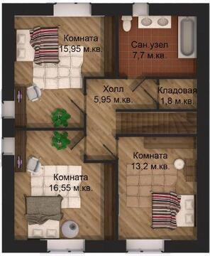 Продается дом 125 м2, Заволжский район - Фото 3