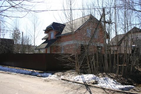Продам дом недострой 220 м на участке 10 сот, Истринский р-н, Борки-3 - Фото 5
