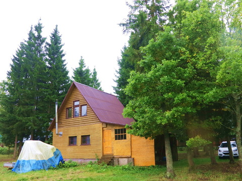 Загородный дом 80 кв.м, 20 (30) соток у леса. 50 км. МКАД. - Фото 1
