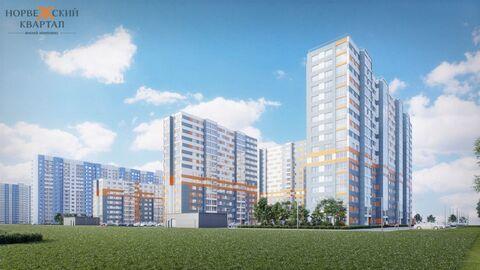Продается однокомнатная квартира в новом ЖК Норвежский квартал - Фото 1