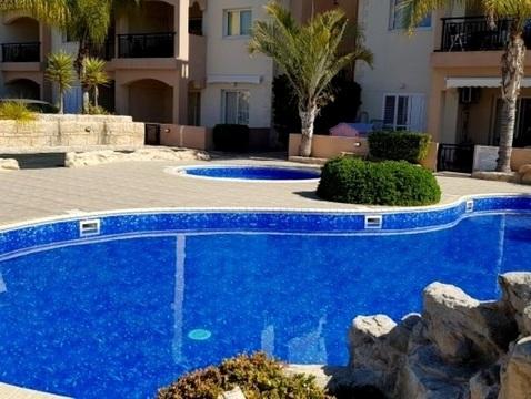 Замечательный двухкомнатный апартамент недалеко от моря в Пафосе - Фото 3
