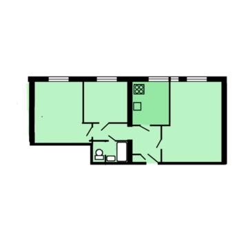 3х комнатная Квартира в 2-х минутах от м.Рижская - Фото 1