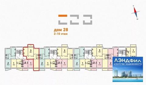 3 комнатная квартира, ул. Левина, д. 9 - Фото 4