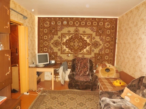 1-комнатная квартира 33м2 (улучшенка). Этаж: 1/5 панельного дома. - Фото 2