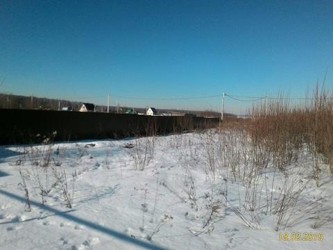 Участок 15 сот, 48 км МКАД, с.Вельяминово, ИЖС, - Фото 2