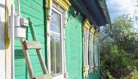 Дом на 9 сотках в самом п.Заокском, ул.Комсомольская, свет, газ, вода, - Фото 2