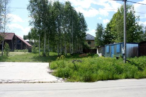 Участок с коммуникациями и фундаментом 10х12 в поселке Солнечный Город - Фото 4
