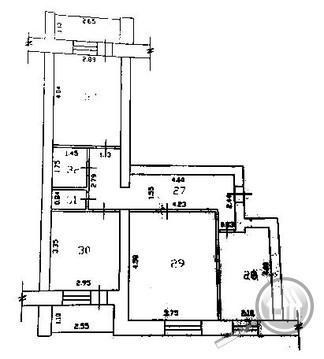 Продается 3-комнатная квартира, г. Заречный, ул. Зеленая - Фото 3