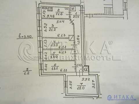 Продажа комнаты, м. Сенная площадь, Ул. Гороховая - Фото 1