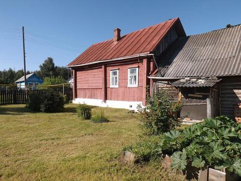 Бревенчатый дом с г/о в пос. Савино Ивановской области - Фото 2