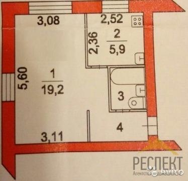 3 250 000 Руб., Продаётся 1-комнатная квартира по адресу Кирова (116 кв-л) 24, Купить квартиру в Люберцах по недорогой цене, ID объекта - 320228621 - Фото 1
