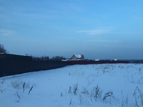 Участок 25 соток, с. Шарапово Чеховский р-н, 55 км от МКАД - Фото 1