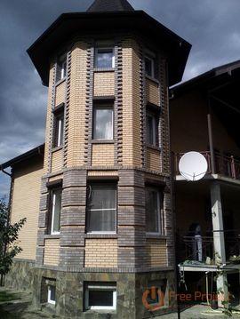 Дом кирпичный 300 кв.м. с зем. уч-ком 16 соток в д.Острога, Каширского . - Фото 1