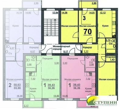 Продажа квартиры, Курган, 16 микрорайон - Фото 3